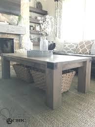 decoration industrial farmhouse coffee table modern diy