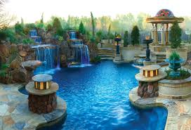 Backyard Pool Designs Landscaping Pools Magnificent These Pools Are Featured In Homes Not Hotels Preview Chicago