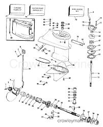 25 Hp Mercury Outboard Parts Diagram 1986