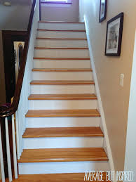 Painted Wood Stairs Five Tips For Painting A Staircase With Before And After Photos