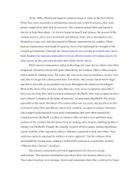 essays slavery essays