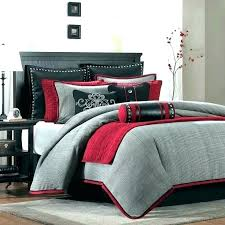 red and white king size sheets cotton set of 3 by house comforter sets percale