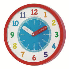 ... Fetching Wall Decoration In Kid Bedroom Using Children And Kid Clocks :  Simple And Colorful Children ...