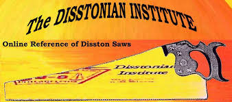 antique hand saw types. disstonian institute logo antique hand saw types