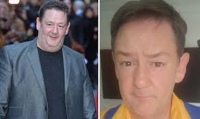 @johnnyvegasreal will be popping in on the mon 31st may matinee! Johnny Vegas Whips Fans Into Frenzy As He Reveals Weight Loss On Twitter Celebrity News Showbiz Tv Express Co Uk