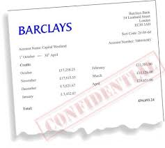 barclays bank statement reference