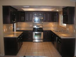 Cherry Wood Kitchen Cabinets Modern Style Black Cherry Kitchen Cabinets Wood Kitchen Cabinets