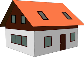 roof clipart.  Clipart Red Roof House Clip Art On Clipart R