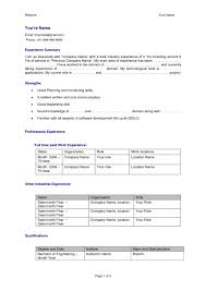 Examples Of Resumes Hr Resume Example Military Transition With