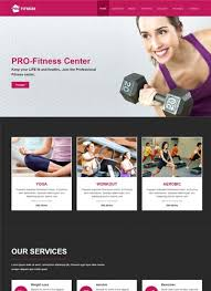 professional webtemplate 26 amazing free health fitness html website templates in 2019