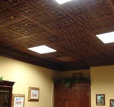Ceilings For Basements Ideas - Finished basement ceiling