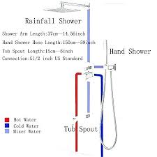 shower faucet height shower spout home complete shower systems shower faucet height shower spout impressive