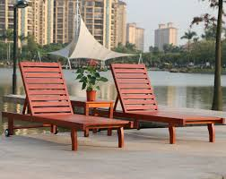 rattan yixuan outdoor wood deck chair recliner lounge chair pool chaise lounge chairs beach chair