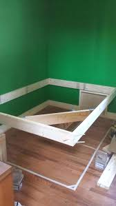 floating bed frame learn how to make a floating bed frame with this floating bed frame floating bed