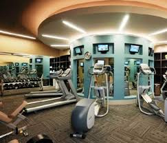 Luxury Home Gym | Contact an Apartment Locator | Residential | Pinterest |  Fitness centers, Apartments and High rise apartments