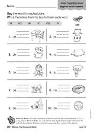 Free Worksheets On Final Consonant Blends | Homeshealth.info