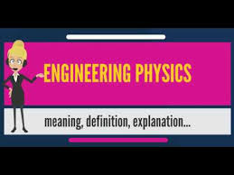 What is ENGINEERING PHYSICS? What does ENGINEERING PHYSICS mean ...