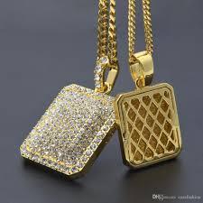 hip hop diamond pendants good 2017 new men hiphop blingbling diamond pendant necklace malicious