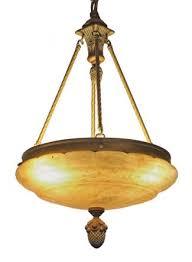 Vintage pendant lighting fixtures Dining Room Waldorf Astoria Alabaster Chandelier Dish Pendant Light Olde Good Things Vintage Pendant Lights Olde Good Things