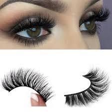 Top <b>3D</b> 100% Mink Soft Long Natural Thick <b>Makeup Eye</b> Lashes ...