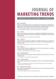 Journal of Marketing Trends   International Marketing Trends     International Marketing Trends Conference