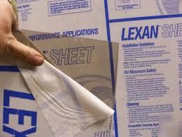 lexan sheet 1 4 4 mr10 bronze polycarbonate lexan 24 1 2 x 21 1 2