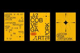 Vega Graphic Design Jacob Vega Artwork Portfolio Identity On Behance