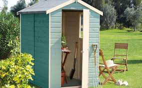Small Picture 6 x 4 Shiplap Wooden Shed Contemporary Garden Shed and