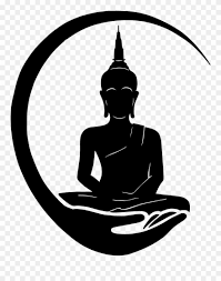 Logo Design Clipart Buddha Logo Design Clipart 4134804 Pinclipart