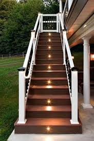 led stairwell lighting. Led Stairwell Lights Deck Stair Lighting Ideas For Outdoor Stairs  Indoor Led Stairwell Lighting