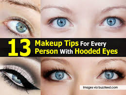 makeup tips for hooded eyes buzzfeed