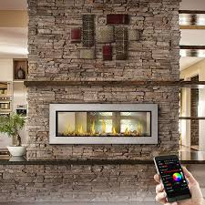 napoleon lv50n2 vector 50 see through gas fireplace woodlanddirect com indoor fireplaces gas