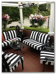 black and white striped outdoor cushions black and white outdoor patio cushions black and white cabana