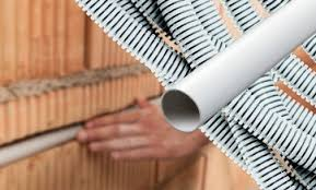 Aluminium fussboden kabelkanal 1m selbstklebend 50mm breit. Kabelkanal Wellrohr Installationsrohr