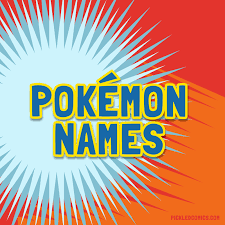 pickled comics pokemon names