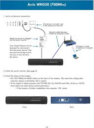 Arris Modem Ds Us Lights Blinking Wireless Internet Troubleshooting Guide Help Desk Pdf Free