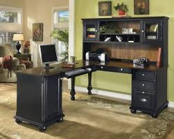 home office desks ideas photo. Fine Desks Marvelous IKEA Black Office Desk Home Desks Ideas Interior  Design To Photo
