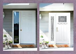 sidelights for front doorsFront Doors  Modern Exterior Design With White Entry Door With