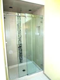 custom glass shower doors phoenix single slider shower door custom glass shower doors baton