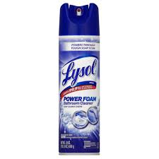 Lysol 24 oz. Bathroom Cleaner Aerosol-19200-02569 - The Home Depot