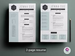 Page Or Resumes Yun56co Resume Template Unbelievable 2 Templates