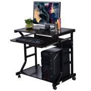 corner desks for home office. ktaxon corner home office computer desk student laptop writing table rolling furniture desks for 0