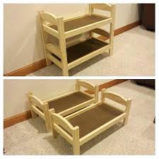 doll bunk bed easy to make doll bunk bed plans from whites blog i extended the doll bunk bed