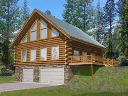 Log House Plans   The House Plan ShopPlan G