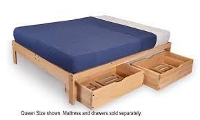 Nomad Platform Bed Frame, Full Platform Bed & Queen Platform Bed Frame