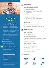 Ui Designer Resume Sample Interface Designer Coveretter Newuxury Ux