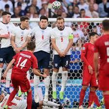 England vs Denmark: Mikkel Damsgaard ...