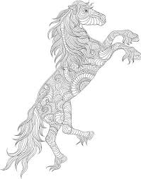 Small Picture 76 best Horses images on Pinterest Coloring books Coloring