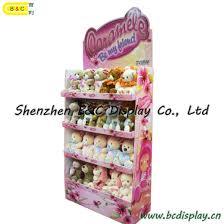 Stuffed Animal Display Stand China Stuffed Toys Paper Display Shelf Plush Toy Cardboard 44