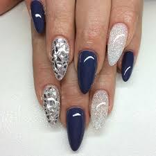 Nail Art Thunder Blue | Nails Art Mania